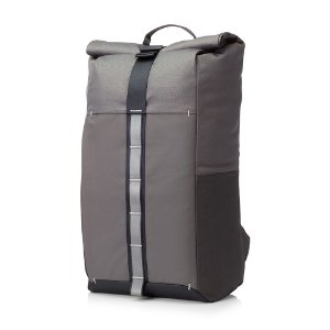"Mochila Para Notebook HP Pavilion Rolltop 15,6"" Cinza 7QQ79LA#ABM - HP"
