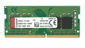 Memória Ram 8gb Ddr4 2400mhz 1.2v CL17 KVR24S17S8/8 para Notebook SODIMM - Kingston
