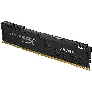Memória HyperX Fury, 8GB, 2666MHz, DDR4, CL16, Preto - HX426C16FB3/8 - HyperX