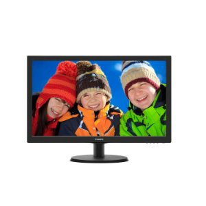 "Monitor Philips 23,6"" LED Full HD 243v5qhaba Hdmi Multimidia - Philips"