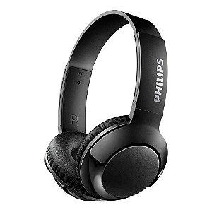 Fone de Ouvido Bluetooth Philips SHB3075BK/00 com Bass+ Preto - Philips