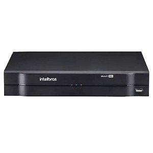 DVR Gravador Digital Multimídia Intelbras MHDX 1004, MultiHD 4 Canais - Intelbras