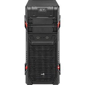 Gabinete Gamer Mid Tower GT Advance Preto EN52209- Aerocool
