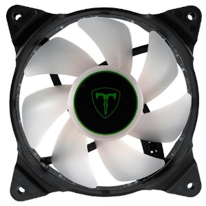 Cooler Fan Para Gabinete T-Dagger 120mm T-TGF300-W Led Branco - T-Dagger