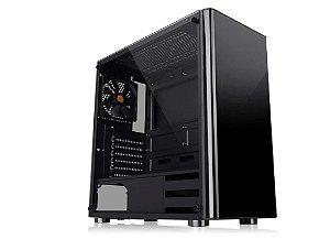 Gabinete Gamer Thermaltake, V200TG, Tempered Glass, CA-1K8-00M1WN-00 - Thermaltake