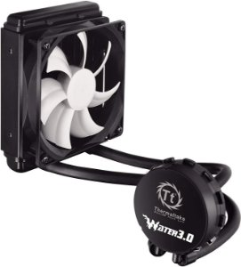 Water Cooler 120mm Thermaltake 3.0 Performer C + Cabo Low-Noise CLW0222-B - Thermaltake