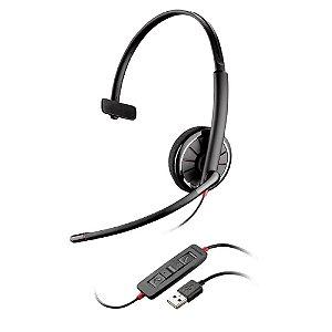 Headset Fone de Ouvido Profissional Blackwire C3210 USB-A Single - Plantronics