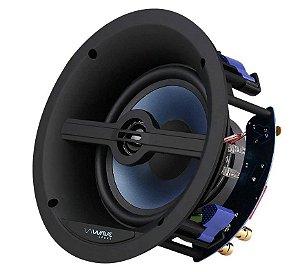 """Caixa de som de embutir angulada WIN120 Tela Slim Quadrada 6,5"""" 120w - Wave Sound"""