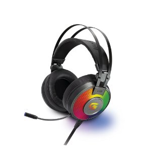 Headset Gamer RGB G Pro H3 P2 Cinza - Fortrek