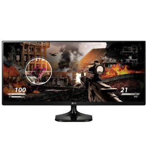 "Monitor LG Gamer LED 25"" IPS Full HD 2560x1080 Ultrawide 25UM58-P - LG"