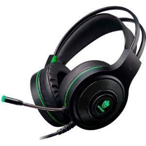 Headset Gamer Evolut Têmis EG-301GR Verde - Evolut