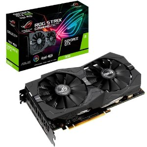 Placa de Vídeo Asus ROG Strix NVIDIA GeForce GTX 1650 4Gb GDDR5 ROG-STRIX-GTX1650-O4G GAMING - Asus