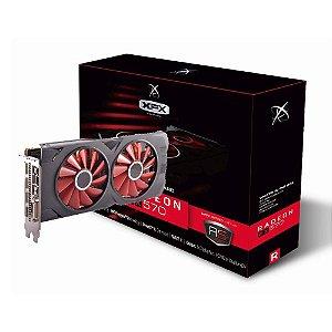 Placa de Vídeo XFX AMD RX 570 8GB XXX ED DDR5 1286MHZ RX-570P8DFD6 - XFX