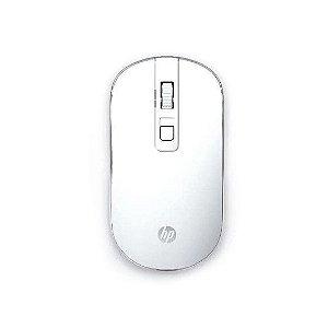 Mouse Sem Fio S4000 1600Dpi Design Slim Branco - Hp