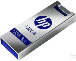 Pen Drive 128Gb Usb Metal X795W - HP