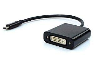 Cabo Adaptador Dvi fio Usb-C M ADP-301 Preto - Plus Cable