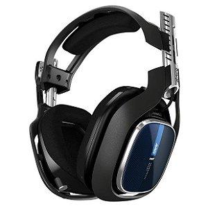 Headset Gamer Astro Gaming A40 TR Preto e Azul - Astro