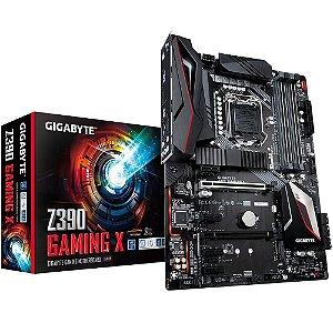 Placa-Mãe Gigabyte Z390 Gaming X, Intel LGA 1151, ATX, DDR4 - Gigabyte