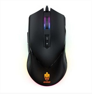 Mouse Gamer Balder 7000Dpi Programável EG-107 Led Rgb - Evolut