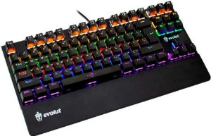 Teclado Gamer Mecânico Evolut EG204 Assault Blue Switch - Evolut