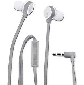 Fone de Ouvido HP Intra Auricular H2310 Cinza e Branco - HP