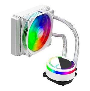 Water Cooler Alseye M120 Universall 120mm Rgb Branco - Alseye