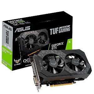 Placa de Vídeo Asus Nvidia GeForce 12Gbps 4Gb Gddr6 TUF-GTX1650-O4GD6-GAMING - Asus