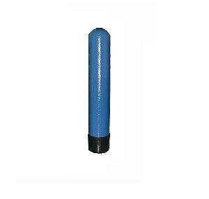 """Tanque em Fibra de Vidro 6 x 35 Abertura Superior 2.5"""" Azul"""