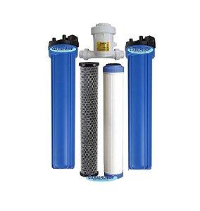 Conjunto Tratamento De Água Residencial GBF3000