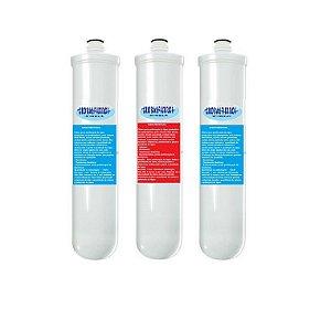 Kit 03 Filtros Compatíveis Com Purificadores de Água Philco 3NB