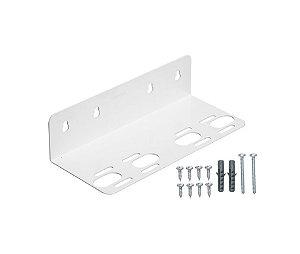 Suporte Duplo Metal p/ Filtros 9.3/4, 5 e 7 c/ Kit Parafusos