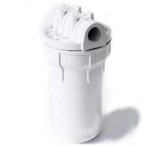 "Carcaça Branca 7"" para Filtros - Rosca 3/4"" (Sem Refil)"