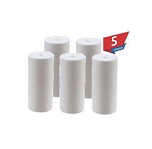Kit 5 Unidades Refil Polipropileno 10 Micra P/ Filtro Big 10