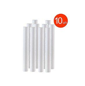 Kit 10 Unidade Refil Polipropileno 20 Micra P/ Filtro 20x2,5