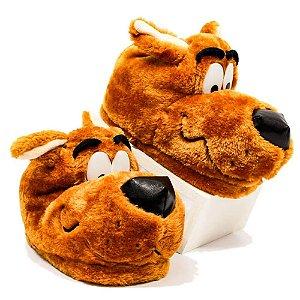 Pantufa Unissex Scooby Doo  Tamanho G  39/41 Zona Criativa