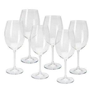 Conjunto de 6 Taças Cristal para Vinho Gastro  450ml Bohemia