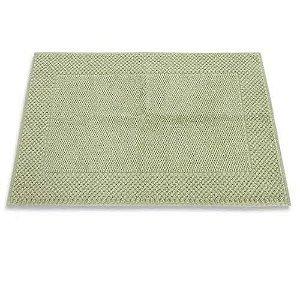 Toalha para pés Piso para Banheiro Premium 48x85 Verde Buddemeyer