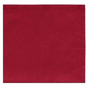 Conjunto de Guardanapos Home 4 Pcs Vermelho 40x40cm 100% Algodão Copa e Cia
