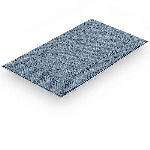 Toalha piso pes premium 48x85 azul Buddemeyer