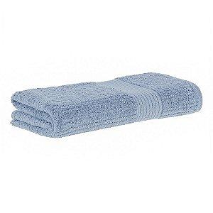 Toalha banhão fio penteado canelado 90x150 azul Buddemeyer