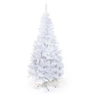 Arvore De Natal Portobelo Branca 180cm 1un Cromus