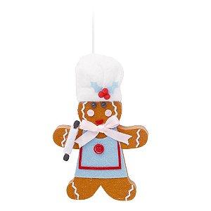 Enfeite P/Pendurar Natalino (Trend Chef) 1UN Cromus