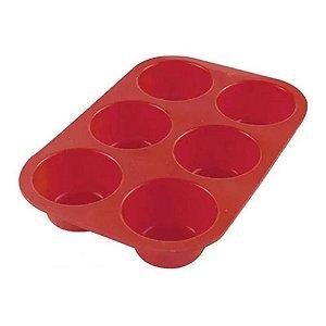 Forma De Silicone Para 6 Cupcakes Mimo Style