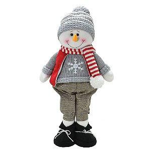 Boneco De Neve Decorativo Natal Mabruk