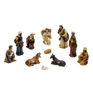 Presépio Natalino Menino Jesus 11 Peças Natal Mabruk