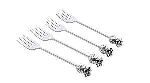 Conjunto de 4 garfos Zamac para Sobremesa Acabaxi