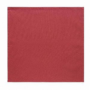 Conjunto de Guardanapo 4 Pcs Merlot Vermelho 40x40cm 100% Algodão Copa e Cia