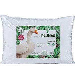 Travesseiro Toque de Pluma Branco 50x70cm Altenburg