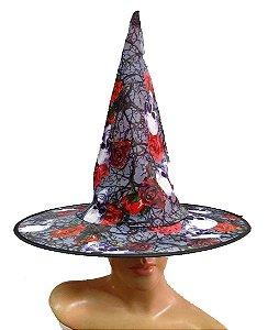 Chapeu de bruxa n. 3 - adulto