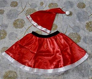 Saia Noel com gorro